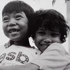 rires des enfants à Phnom Penh