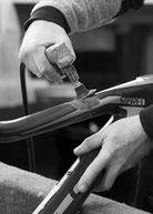 Carbonbike Rahmen Reparatur Instandsetzung