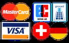 Akzeptierte Bezahlungsarten sind EC-Karte, Visa und Mastercard oder Barzahlung in Euro und Schweizer Franken