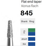 FG-Diamant 845, Konus flach