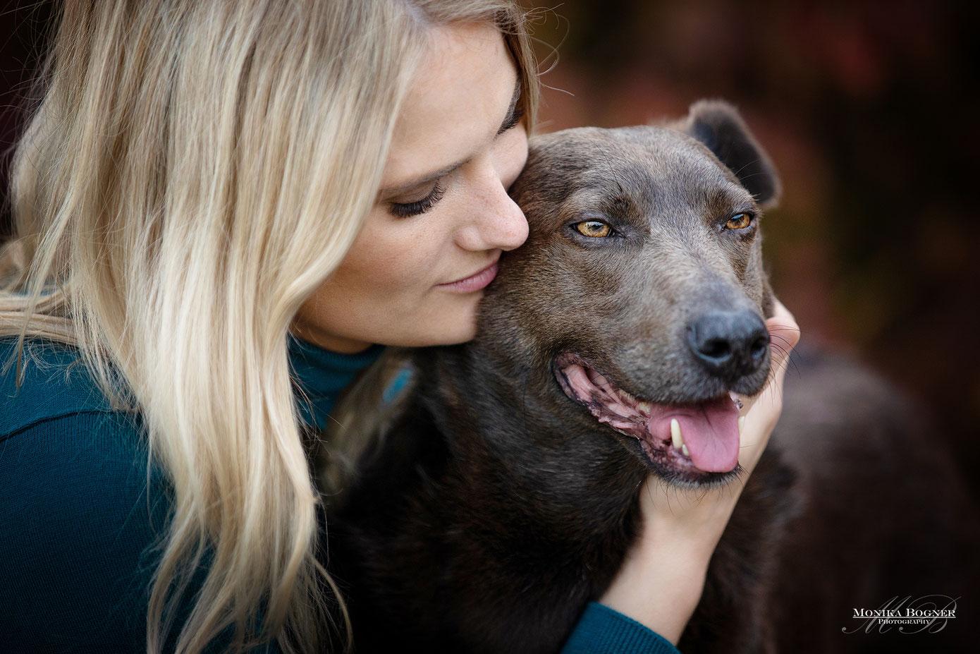 Hundeshooting, Mensch und Hund