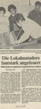 Euskirchener Zeitung 28.11.1988