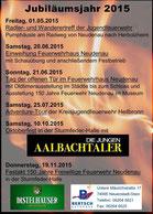 Events im Jubiläumsjahr