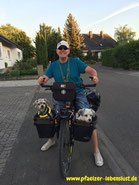Hunde, Fahrrad, Transport, Sicher, 3-Punkt-Gurt, Hundekorb