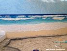 Krativ, Bild, 3D, Strand, Meer