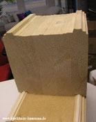 Blockhaus - Wohnhaus - Wandaufbau Blockbalken 275 mm für Blockhäuser zum Wohnen - Blockhausbau -  Wohnblockhaus - Haus - Ökohaus - Ökologisch bauen - Massivholzhaus