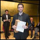 3. Preis, Hilde Zadek Gesangswettbewerb 2015: TOBIAS GREENHALGH, BARITON (Foto: Fayer)