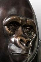 bronze gorilla for sale