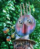 La tête du totem de Contay