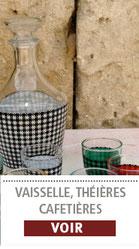 Les verres et carafes vintage