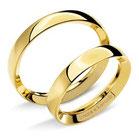 Fede Comete Gioielli Ivana e Lorenzo in oro giallo ANB715