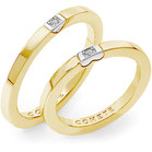 Fedi Nuziali Comete Gioielli Adamo ed Eva  con un diamante oro giallo  ANB2322gb