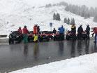 Atv tour snow and cheese