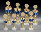 Große Auswahl an Pokalen, Glastrophäen, Acrylglas, Sportfiguren, Medaillen, Plaketten, u.v.m.