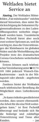 Quelle: Freilassinger Anzeiger, 23.10.2020