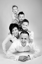 Familien Fotoshooting  - Fotostudio Hallbergmoos Iris Besemer