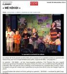 A Clémery (54), les enfants enchantés par le spectacle proposé par la troupe LES GUIGNOLOS