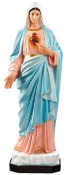 Immaculate Heart of Mary cm 130