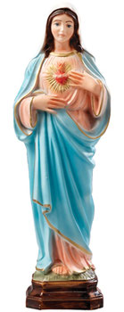 Immaculate Heart of Mary cm 30