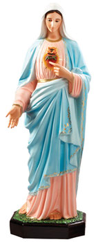 Immaculate Heart of Mary cm 110