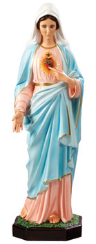 Immaculate Heart of Mary cm 85