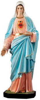 Immaculate Heart of Mary cm 155
