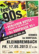 17.05.2013 Benjamin Boyce zu Gast in Kleinbrembach...