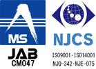 MS JAB CM047 NJCS ISO9001,ISO14001 NJQ-342,NJE-075