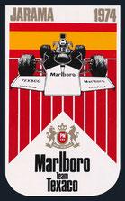 XXº Gran Premio de España de 1974 según Marlboro