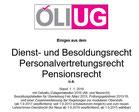 ÖLI-UG Dienstrechtsskriptum