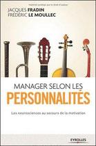 Livre de Jacques Fradin - Manager selon les personnalités