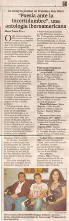 En El Nuevo Diario (Nicaragua)