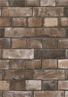 タイル柄の壁紙