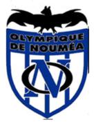 Logo de l'Olympique de Nouméa, à laquelle appartient l'équipe des Flying Fox - Foot US