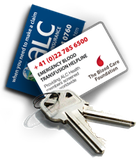 Keychain of ALC_a_la_carte_Healthcare_Provider