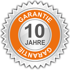 Detaillierte Informationen zu unserer 10 Jahres Garantie