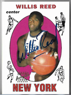 WILLIS REED / Certified Autograph Issue - No. 60