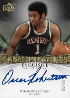 OSCAR ROBERTSON / Enshrinements - No. EN-OR  (#d 5/25)