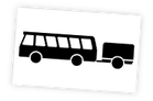 Bus Anhänger groß