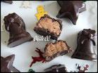 chocolat de paques noir confiture biscuitee, chic choc cake boutique en ligne cake design et patisserie pas cher