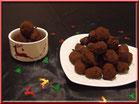 recette truffes chocolat noir pour pâques, chic choc cake boutique en ligne cake design et patisserie pas cher