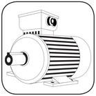 B3 Fußmotor Icon Anfrage nach E Motor