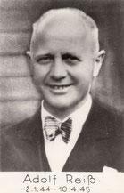 Adolf Reiß