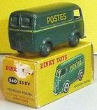 Fourgon postal miniature