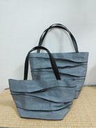 シンプルな畳縁バッグ