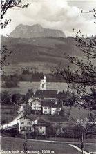 Lauterbach mit Heuber, 1338 m