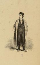 Un maitre de pension (Paul Gavarni)