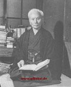Funakoshi Gichin (1868–1957).
