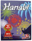 Schachtel Hanabi Spiele DaF A2 B1 B2 C1 C2