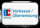 Vorkasse / Überweisung auf ein Bank- oder Postkonto